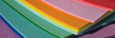 Multicolored specialty paper