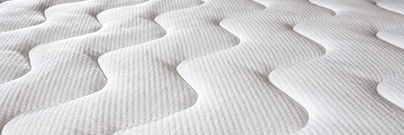 Bed Mattress close-up