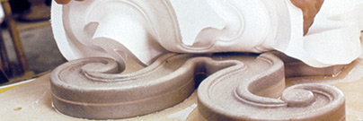 Moldmaking release from decorative plaster mold
